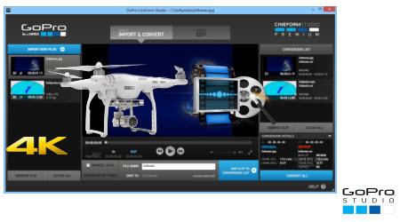 Tips for Editing DJI Phantom 4 4K files in GoPro Studio – 4K Solutions